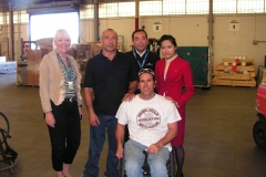 Cathy Pacific Airways Cargo Ships Wheelchairs to Nepal From Los Angeles